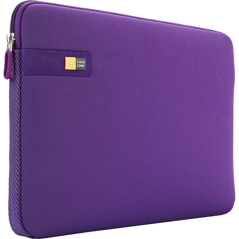 "Case Logic LAPS-116-PURPLE Carrying Case (Sleeve) for 16"" Notebook - Purple"