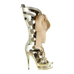 Women's Ellie Teagan Gold Metallic Patent
