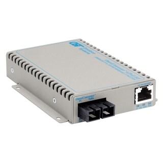 OmniConverter SE 10/100/1000 PoE Gigabit Ethernet Fiber Media Convert