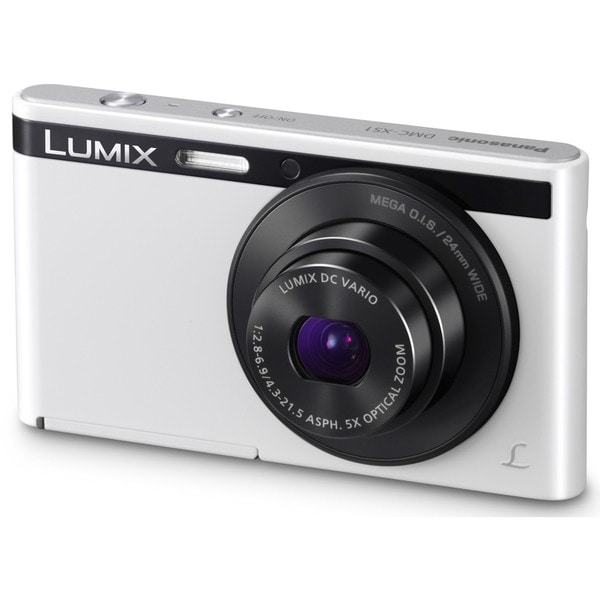 Panasonic Lumix DMC-XS1 16.1 Megapixel Compact Camera - White