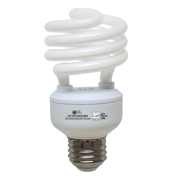 Goodlite G-10848 18-Watt CFL 1250-Lumen Daylight T2 Spiral Light Bulbs (Pack of 25)