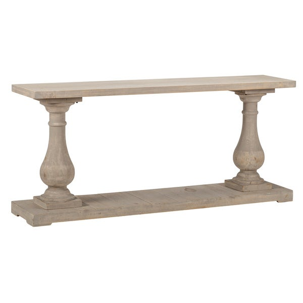 Wilson Antique White Reclaimed Pine Console Table By Kosas Home by Kosas Home