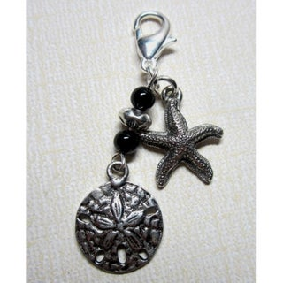 Fashion Forward Starfish Sand Dollar Charm
