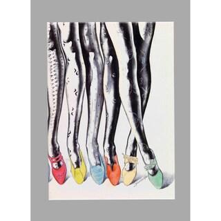Fabrice de Villeneuve 'Loving Fashion' Giclee Canvas Art