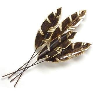 Metal Palm Wall Decor With Palm Tree Leaves Free