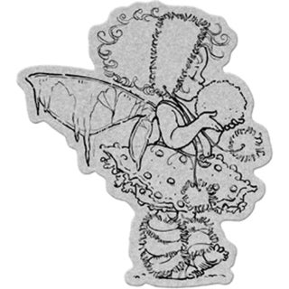 "Penny Black Winter Fairy Cling Rubber Stamp (4"" x 6"")"