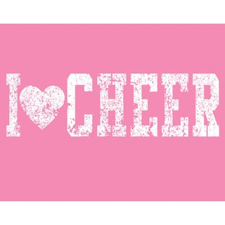'I {heart} Cheer' Print Art