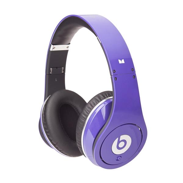Monster Beats by Dr Dre Purple Studio Headphones