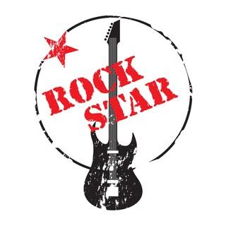 'Rock Star' Print Art