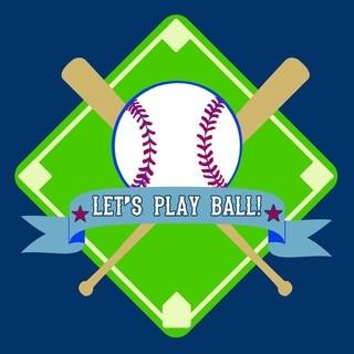 'Let's Play Ball' Print Art