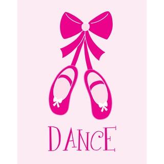 'Ballet Shoes' Print Art