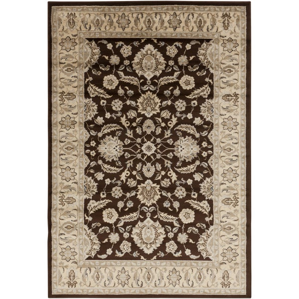 Cocoa Classic Brown Rug (5'3 x 7'6)