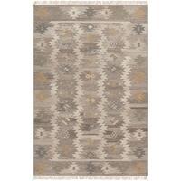 Pine Canopy Las Posadas Grey Wool Area Rug - 8' x 11'