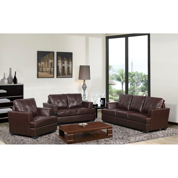 Nova Brown Living Room Set Free Shipping Today