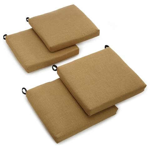"Blazing Needles Indoor/Outdoor Chair Cushion (Set of 4) - 20""x19"""