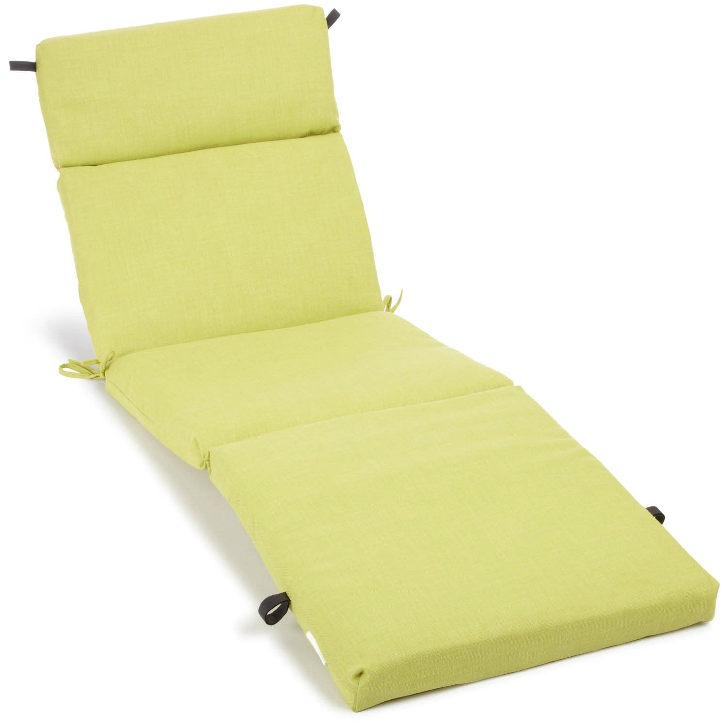 Blazing needles 72 inch all weather solid outdoor chaise for Blazing needles chaise cushion