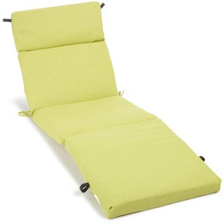 Blazing Needles All-weather Outdoor Chaise Lounge Cushion