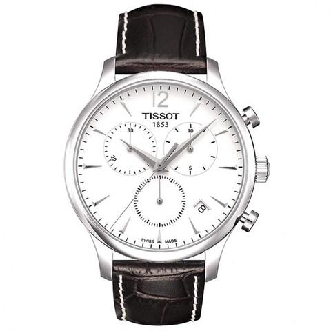 Tissot Men's T0636171603700 'T Classic Tradition' Silvertone Steel Watch