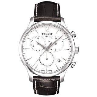 Tissot Men's T0636171603700 'T Classic Tradition' Silvertone Steel Watch|https://ak1.ostkcdn.com/images/products/7713105/P15118104.jpg?impolicy=medium