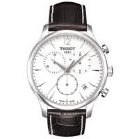 Tissot Men's T0636171603700 'T Classic Tradition' Silvertone Steel Watch