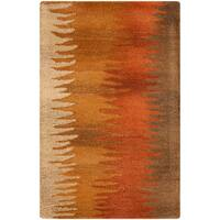The Curated Nomad Baden Hand-tufted Copper New Zealand Wool Area Rug (9' x 13')