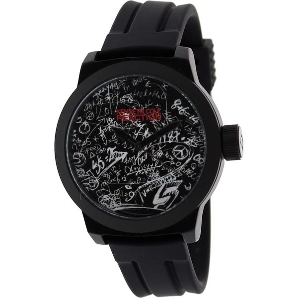 Kenneth Cole Recation Men's Black Silicone Quartz Watch