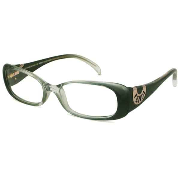 acf51ece1f3a Fendi Readers Women  x27 s F847 Rectangular Green Fade Reading Glasses