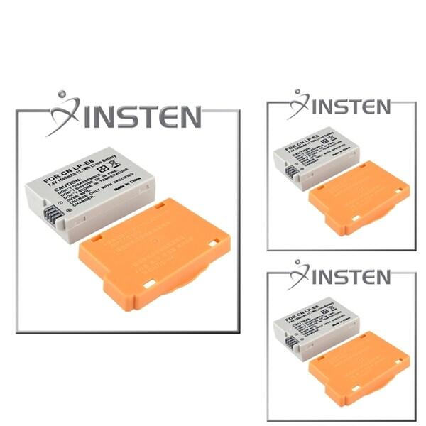 INSTEN Compatible Battery for Canon Digital Rebel T2i/ 550D (Pack of 3)