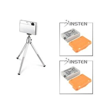 INSTEN Battery/ Mini Retractable Tripod for Canon EOS 550D/ 600D/ T3i