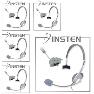 INSTEN White Headsets for Microsoft xBox 360 (Pack of 5)