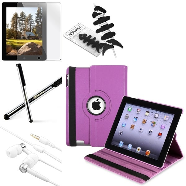 BasAcc BasAcc Case/ Screen Protector/ Wrap/ Headset/ Stylus for Apple® iPad 3/ 4