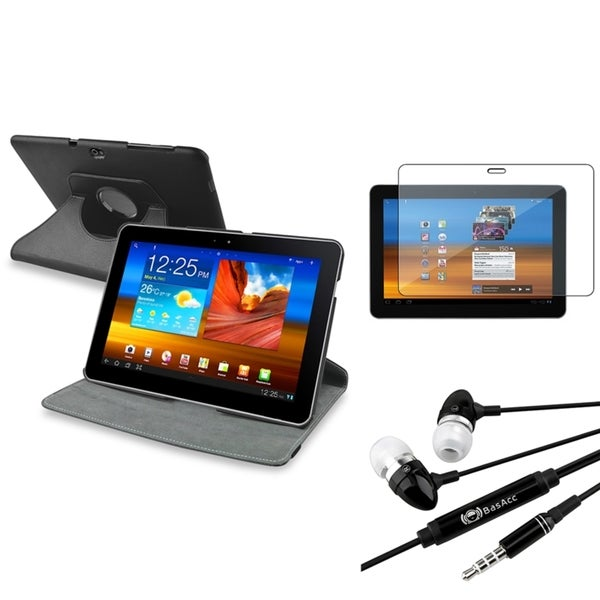 Swivel Case/ Headset/ Protector for Samsung Galaxy Tab 10.1-inch P7500
