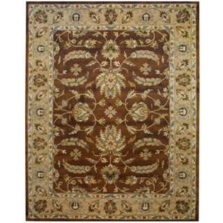 Herat Oriental Indo Hand-tufted Mahal Wool Rug (8' x 10')