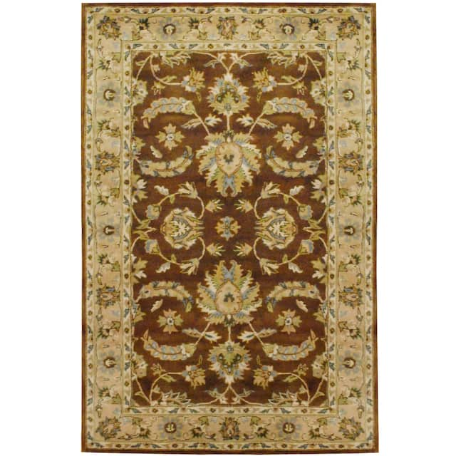 Herat Oriental Indo Mahal Wool Rug  - 5' x 8'