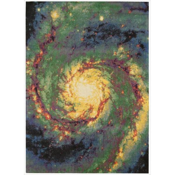 Altered State Stellar Galactic Multicolored Rug (5' x 7')