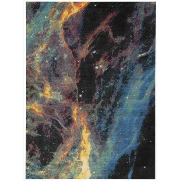 Altered State Galactic Multicolored Rug (5' x 7')