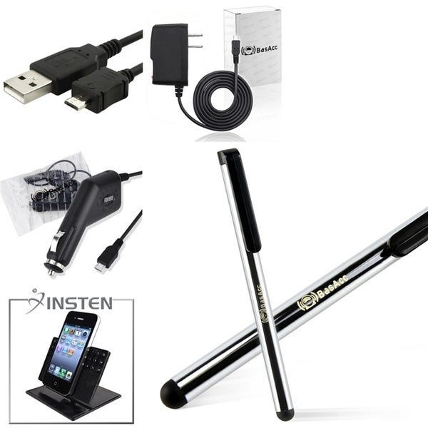 BasAcc Holder/ Chargers/ Cable/ Stylus for HTC ThunderBolt Inspire 4G