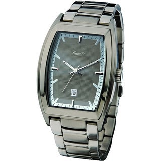 Kenneth Cole Men's 'Reaction KC3756' Grey Stainless Steel Quartz Watch