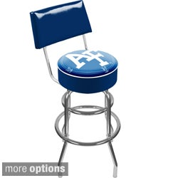 Trademark Games Officially Licensed NCAA Padded Stool with Back