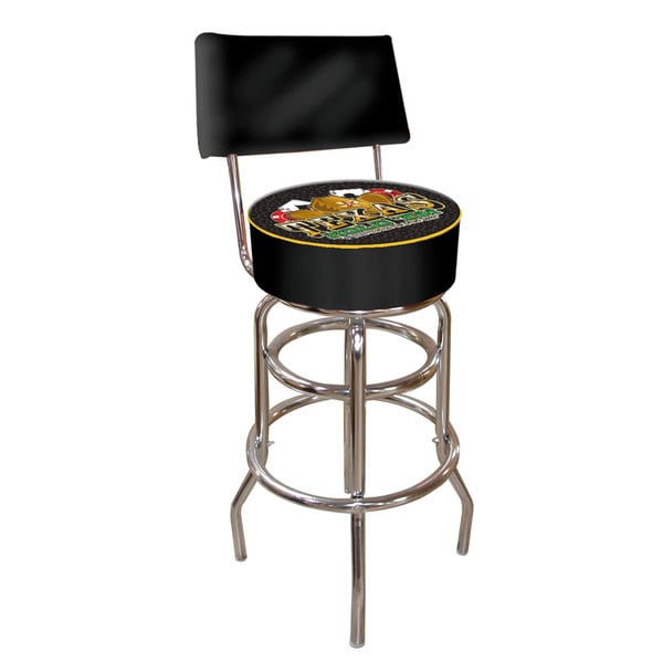 Trademark Games Texas Holdem Padded Bar Stool with Back