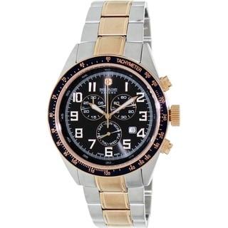 Swiss Military Hanowa Men's New Legend Two-Tone Stainless Steel Swiss Chronograph Watch