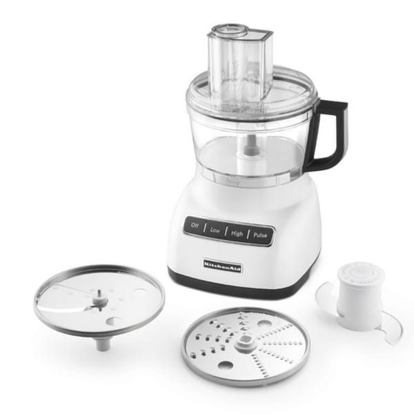 Shop Kitchenaid Kfp0711wh White 7 Cup Food Processor