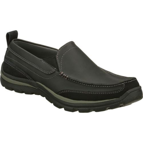 Men's Skechers Relaxed Fit Superior Gains Black