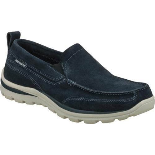 Men's Skechers Relaxed Fit Superior Pace Navy/Navy