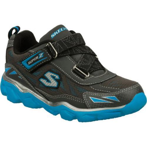 Boys' Skechers Serrated Lago Gray/Blue