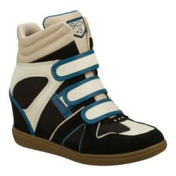 Women's Skechers SKCH Plus 3 Binder Black/Blue