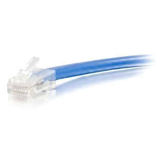 100ft Cat6 Non-Booted Unshielded (UTP) Network Patch Cable - Blue