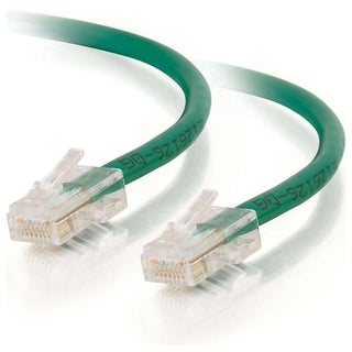 12ft Cat6 Non-Booted Unshielded (UTP) Network Patch Cable - Green