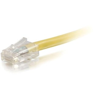 C2G-6ft Cat6 Non-Booted Unshielded (UTP) Network Patch Cable - Yellow
