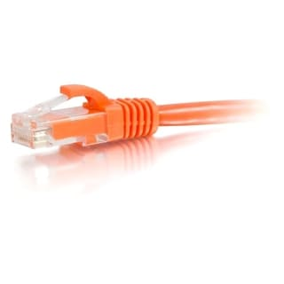 25ft Cat5e Snagless Unshielded (UTP) Network Patch Cable - Orange